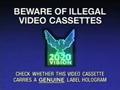 20-20 Vision Piracy Warning (1993) Hologram