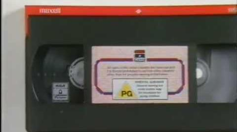 RCA Columbia Pictures Vintage UK anti-piracy message