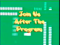 Join us after the program (2003)