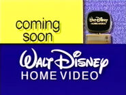 And coming soon from Walt Disney Home Video