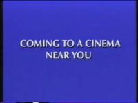 Coming Soon to a cinema Near You Disney 1995 ID