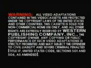 Golden Books Video Warning