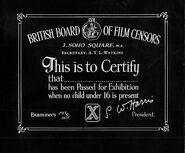 X-certificate