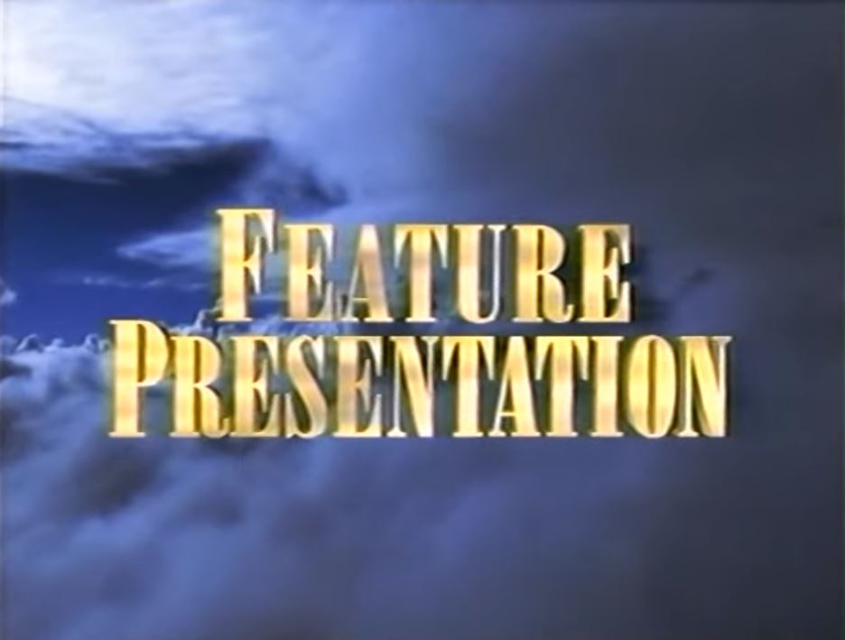 Second Paramount Home Entertainment Feature Presentation bumper (golden words)