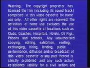 Warner Home Video Warning Screen (1980) (S2)