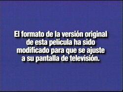 2000 Format Screen (Spanish)