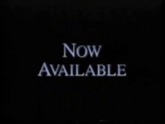 Disney Now Available 1994 Bumper