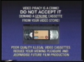 Columbia TriStar Home Video Anti-Piracy Warning (1994-2001)