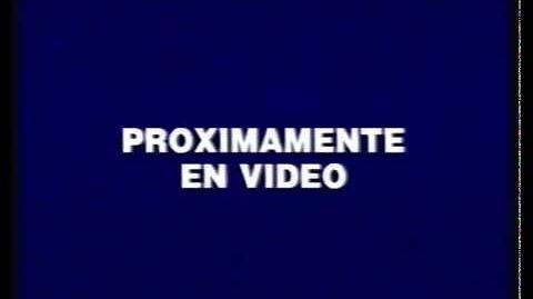 Walt Disney Home Video Spain Anti piracy warning