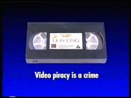 Disney Videos Anti-Piracy Warning (1995-1996)