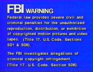 Goodtimes Warning Screen (1990