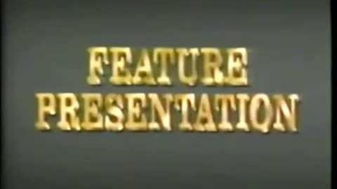 Disney Gold Feature Presentation Logo