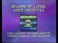 CIC Video Piracy Warning (1997) (Universal) Hologram