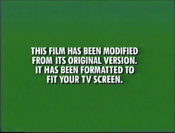 First Buena Vista and Walt Disney Home Video modified screen (Different Font Variant)