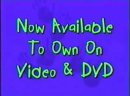 Now Available to Own on Video and DVD (Playhouse Disney Variant)