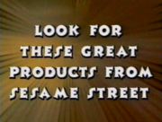 Look For These Great Products From Sesame Street Bumper 1998