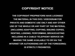 Copyright Notice 2002 Warning Screen