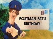 Postman Pat's Birthday
