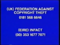 Walt Disney Home Video Piracy Warning (1996)
