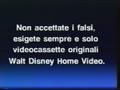 Walt Disney Home Video Italian Piracy Warning (1994) (S6)