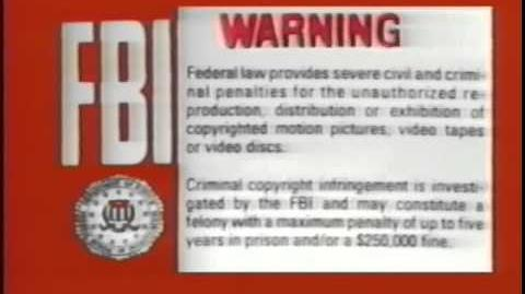 FBI Warning (red background, early 90s)