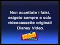 Walt Disney Home Video Italian Piracy Warning (1995) (S6)