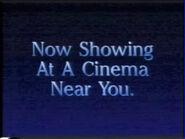 Now Showing At A Cinema Near You Disney Australia 1993 ID