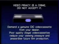 Walt Disney Home Video Piracy Warning (1994) Hologram