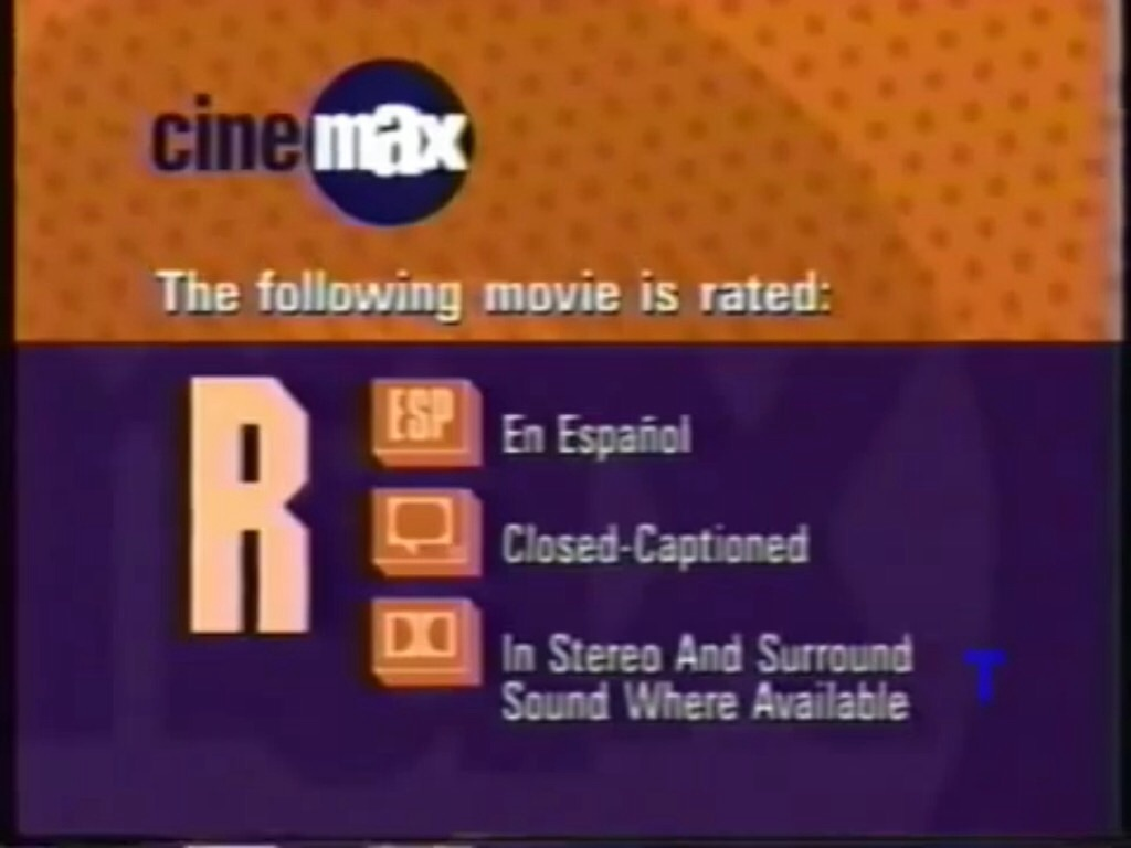 image - cinemax r rating bumper (1997-2001) | company bumpers