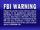 Elite Entertainment Warning Screen