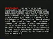 Golden Books Video Warning 3