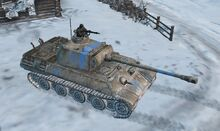 Featured Article Image about Panther PzKpwf V