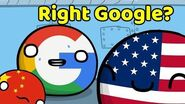 Huawei situation in America - Countryball animation