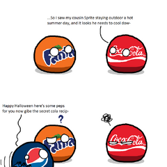 Coca Cola and Pepsi in a Nutshell (by /u/KaliningradGShow MoreShow Fewereneral)