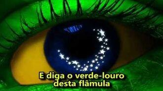 HINO NACIONAL BRASILEIRO OFICIAL - ILUSTRADO E LEGENDADO (27º BPM M)