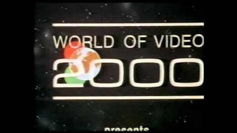 VHS Companies From the 80's -170 - WORLD OF VIDEO 2000