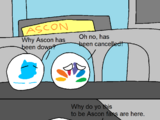 Why Ascon shuts down