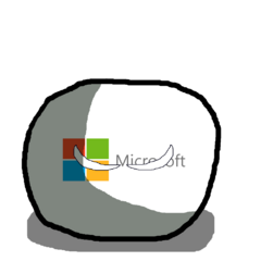 Microsoft in ball form