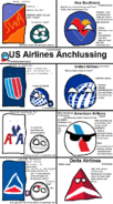 US Airlines Anchlussing