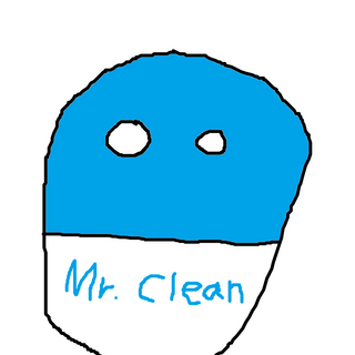 Mr. Cleanhuman in ball form