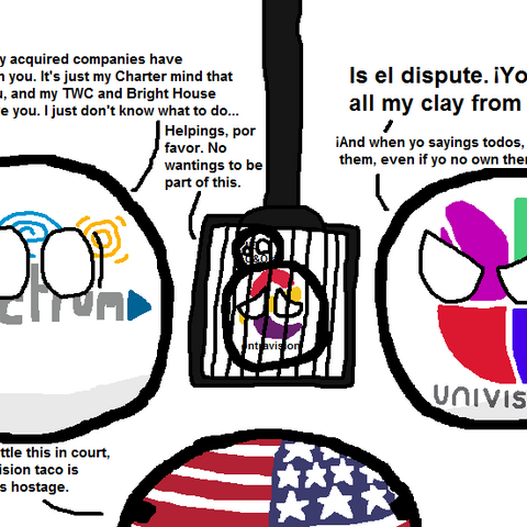 Univisionball arguing with <a href=