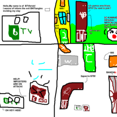 The very first BNTtangle comic (NOTE: NOT CANNON)