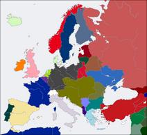 CV Europe map 1919