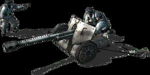 Pak38 50mm antitank gun