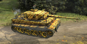 Tiger Ace PzKpfw VI picture COH2 Ostheer