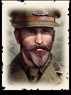 COH 2 British Commander Portrait - Advanced Emplacement Regiment