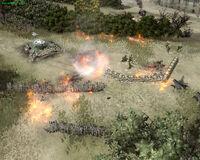 Unit Mortar Halftrack Incendiary