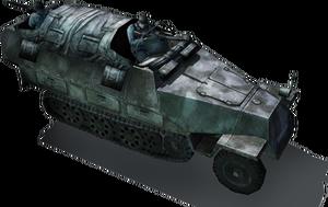 Axis sdKfz251 halftrack