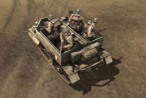 Unit Bren Carrier Loaded Infantry