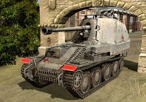 Unit Marder III Tank Hunter